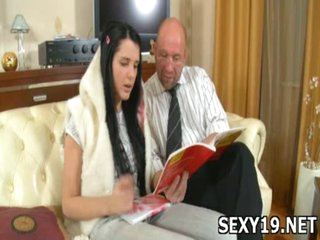 Charming pretty beauty gets crotch licked