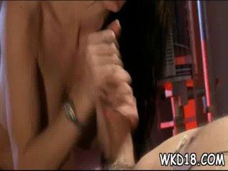 Guy licks and bonks twat