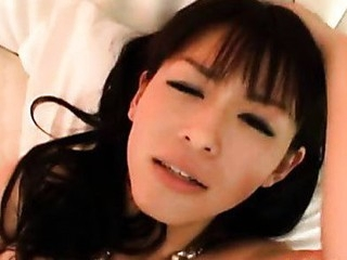 Fresh Youthful Asian Cutie Happily Sucks On Schlong