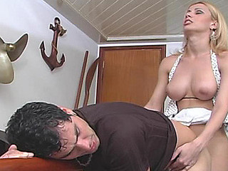 Shayene passionate shemale action