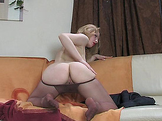 Natalie hose tease video scene