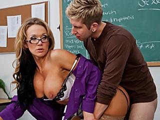 Teacher Nikki Seduce By Her Student Named Danny