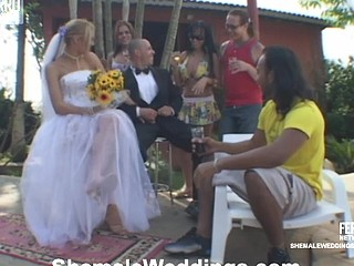 Alessandra shemale bride on episode
