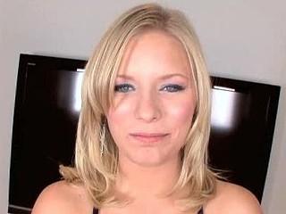 Blonde Legal Age Teenager Wearing Braces Gobbles Down Cum