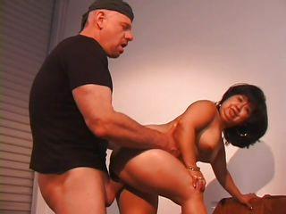 midget slut gets a big thick cock