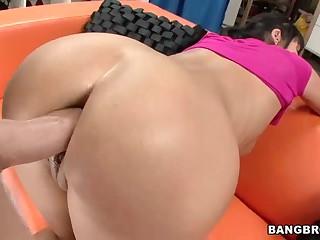 Hot milf Eva Karera  gets her amazing butt fucked