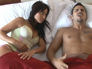 Desperate wife cheats her arsehole husband