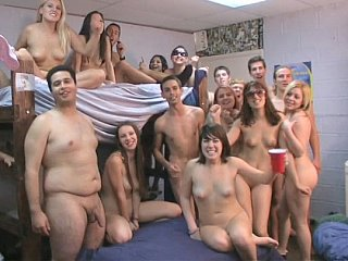 Massive college Sex Party