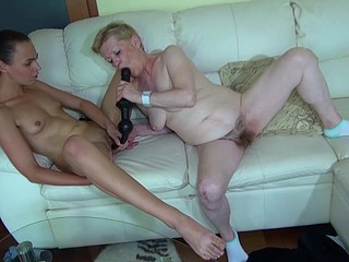 Legal Age Teenager hotty and old lesbian Granny