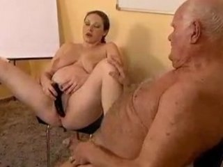 Old guy fucks a pregnant girl