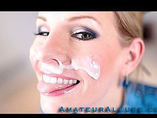 Aimee Addison returns to Amateur Allure and this time that babe wants a facial. This stunning..