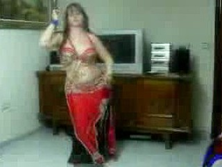 Sexy Arab Dances For The Webcam