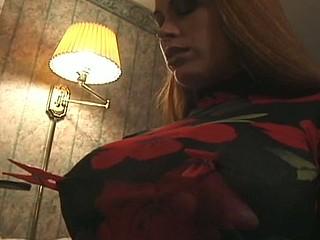 Serf hogtied in her pants