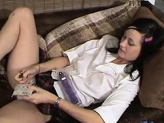 Watch savanna marital-device her wet muff in this movie scene