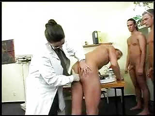 Large Titty Doctor Has Group-sex With Soldiers