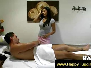 Asian Allanah gives a carnal massage