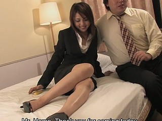 Obscene Rino Mizusawa enjoys riding a hard rod