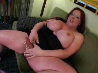 Fat Tranny cumming