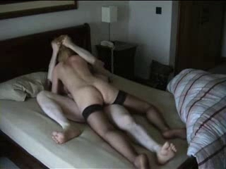 Cheating Blonde Wife Riding BF&,#039,s Dong on Hidden Cam