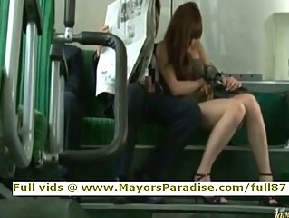 Rio from idol69 asian cutie is fucked on the bus