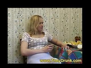 Drunken slut engulfing
