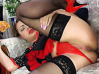 Maria&Monty vehement anal clip