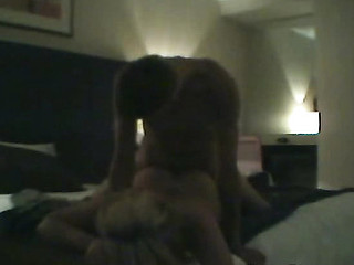 Enormous blond whore bonks in cheap hotel.
