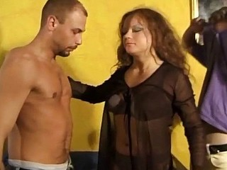 Watch these european swingers go crazy in a hardcore orgy