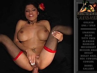 Busty Latina Alexis Amore is getting her ass stuffed with cock