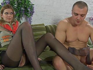 Cecilia&Nicholas pantyhosers caught on camera