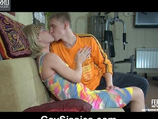 Silvester&Connor kinky gay crossdresser action