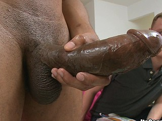 Fucking amazing interracial bj