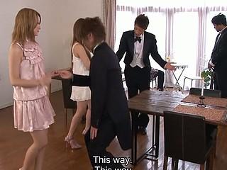 Hibiki Ohtsuki tasting alluring cum and dong