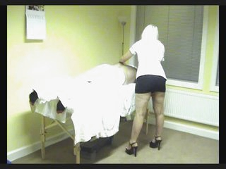 Miss. Louise Jackson massage therapist screwed on hidden cam