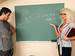 Student Take Advantage Of His Hot Professor