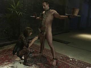 Interracial thraldom sex