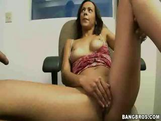 Mitzy - Plays With Cock And Pussy