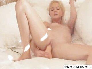 Sophia  Jabs Wet Pussy With Vibrator