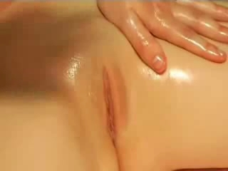 wonderful instructional massage with multiple orgasm