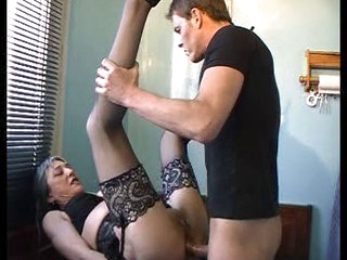 French mature housewife &amp,amp, the plumber (anal-fucked)