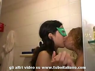 Italian Pregnant girl amateur Lesbian