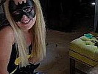 Holy Cow, Batman!!! Batgirl Swallows!!!