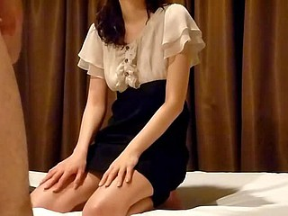Turned on by their sexy foreplay, the Asian amateurs strip and kiss and stroke each other's naked body. The girl gives her boyfriend a hungry blowjob and he fucks her hairy slit.